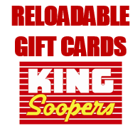 Purchase a King Soopers reloadable gift card for $2.50 from Alia Rieker (alia0220@yahoo.com or 719-360-9447) and not only will you get your $2.50 back to ...